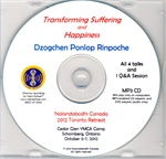 Transforming Suffering and Happiness (MP3CD)