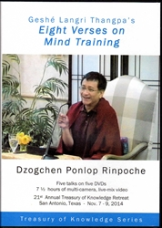 Dzogchen Ponlop Rinpoche Mind Training Combo Deal (DVD)