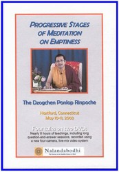 Progressive Stages of Meditation on Emptiness (DVD)