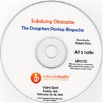 Subduing Obstacles (MP3 CD)