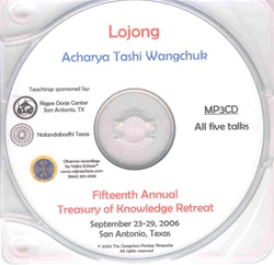 Lojong (MP3 CD)