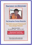 Teachings on Dzogchen (DVD)