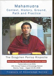 Mahamudra: Context, History, Ground, Path & Practice (DVDs)