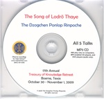 The Song of Lodro Thaye (MP3CD)