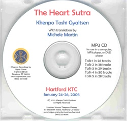 The Heart Sutra (MP3 CD)
