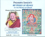 Padampa Sangye's 80 Verses of Advice (CD)