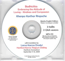 Bodhicitta: Embracing Loving-Kindness and Compassion (MP3)