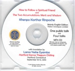 The Two Accumulations: Merit and Wisdom (MP3 CD)
