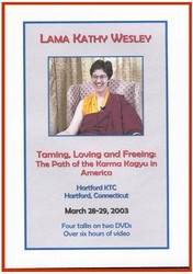 Taming, Loving and Freeing: The Path of the Karma Kagyu in America (DVDs)