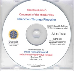 Ornament of the Middle Way (MP3CD)