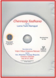Chenrezig Sadhana (led by Lama Tashi Namgyal) (DVD)