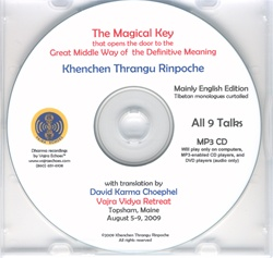 Khenpo Gangshar's The Magical Key (MP3 CD)