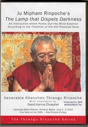 Mipham's The Lamp That Dispels the Darkness (DVD)