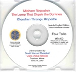 Mipham's The Lamp That Dispels the Darkness (MP3 CD)