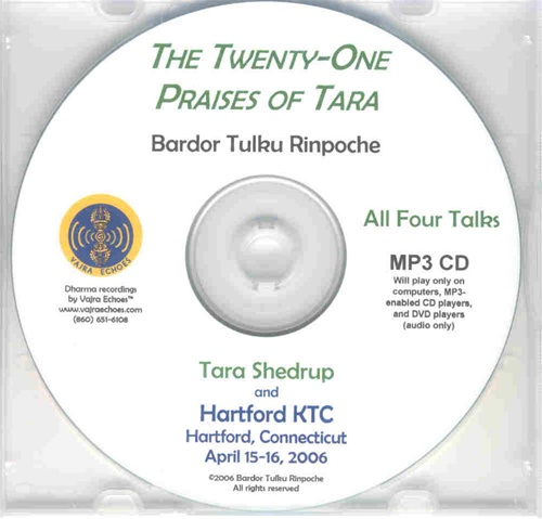 The Twenty-One Praises of Tara (MP3 CD)