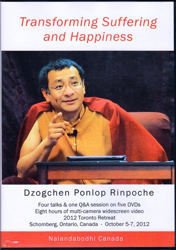 Transforming Suffering and Happiness (DVDs)