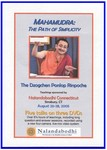 Mahamudra Path of Simplicity (DVD)