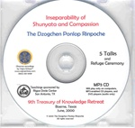 Inseparability of Shunyata and Compassion (MP3 CD)