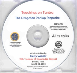 Teachings on Tantra (MP3 CD)