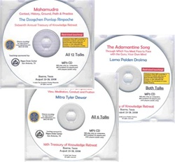 Combo MP3CD deal all 2008 TOK teachings