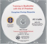 Training in Bodhicitta with the 37 Practices  (MP3CD)