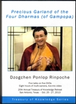 Precious Garland of the Four Dharmas of Gampopa (DVDs)