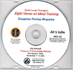 The Eight Verses on Mind Training (MP3)