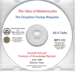 The View of Mahamudra (MP3 CD)