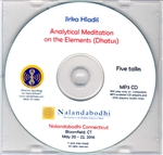 Analytical Meditation on the Elements (Dhatus) (MP3CD)