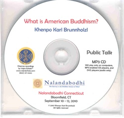 What is American Buddhism? (MP3CD)