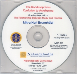 The Roadmap from Confusion to Awakening (MP3CD)