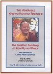 The Buddha's Teaching on Equality and Peace (DVD)