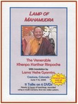 Lamp of Mahamudra (DVD)
