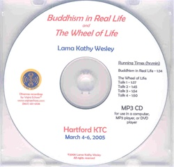 Buddhism in Real Life and The Wheel of Life (MP3 CD)