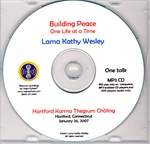 Building Peace - One Life at a Time (MP3 CD)
