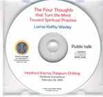 The Four Thoughts that Turn the Mind (CD)
