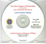 The Nine Stages of Shamatha and Calm Beneath the Waves (MP3 CD)
