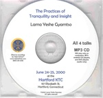 The Practices of Tranquility and Insight (MP3CD)