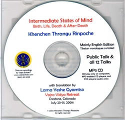 Intermediate States of Mind (MP3CD)